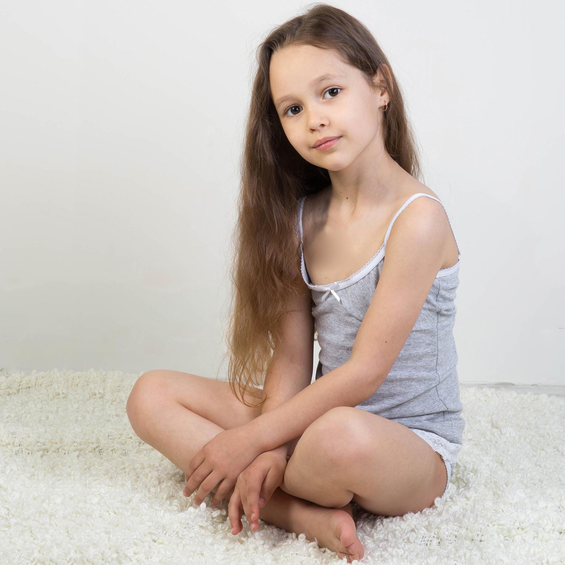 Mini Models Девочка Юная Обнаженная